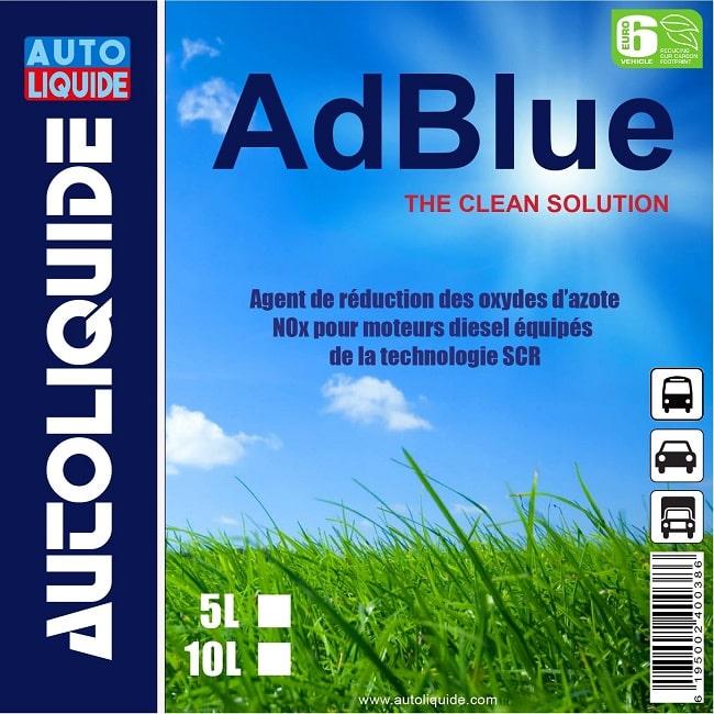 Adblue Tunisie Autoliquide