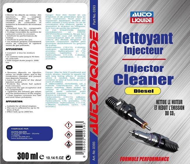 Nettoyant Injecteur Tunisie Diesel Autoliquide