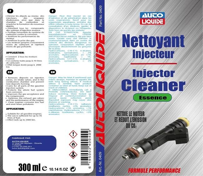 Nettoyant Injecteur Tunisie Essence Autoliquide